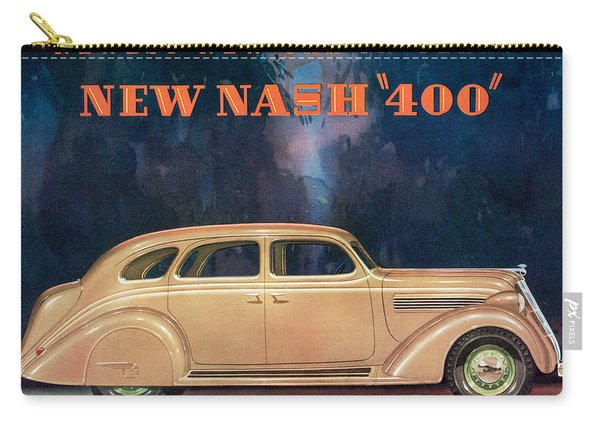 Nash 400 - Vintage Car Poster Carry-all Pouch