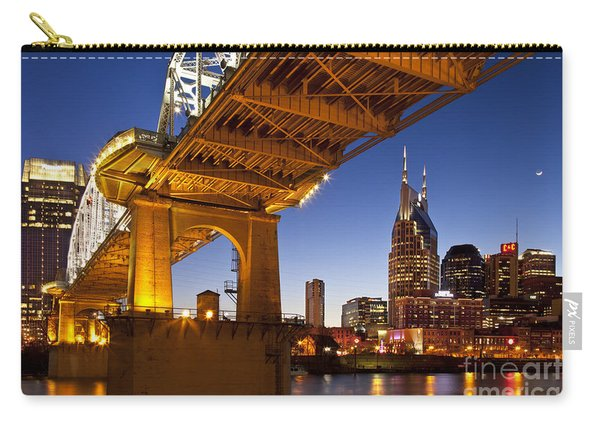 Carry-all Pouch featuring the photograph Nashville Tennessee by Brian Jannsen