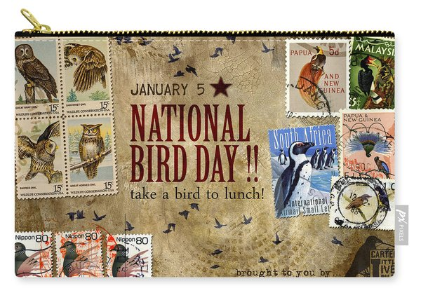 National Bird Day Carry-all Pouch