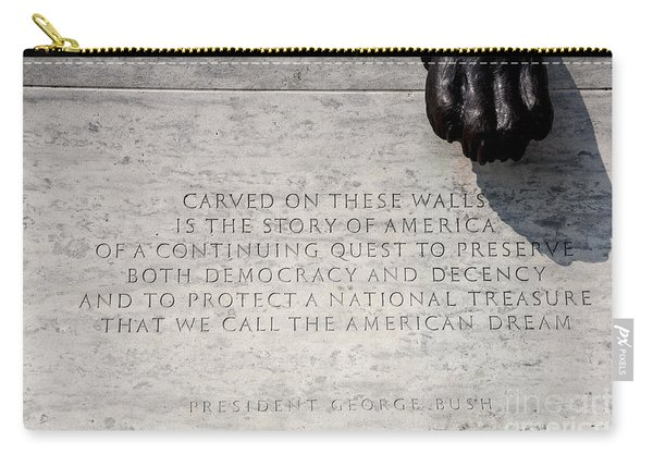 National Law Enforcement Officers Memorial Carry-all Pouch