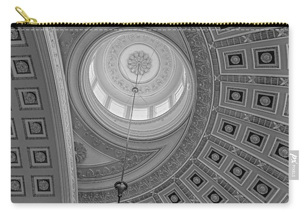 National Statuary Rotunda Bw Carry-all Pouch