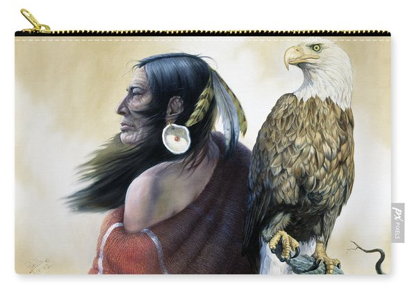Native Americans Carry-all Pouch