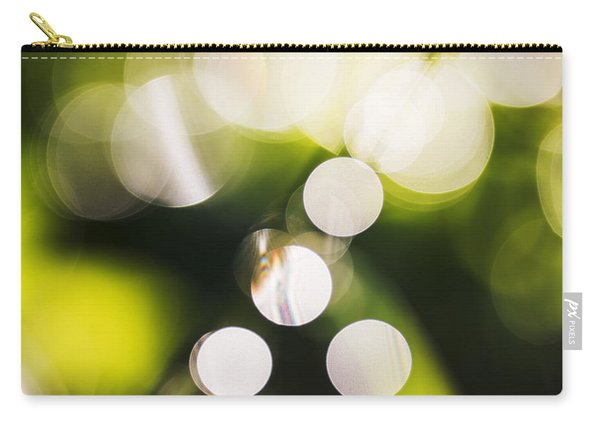 Natural Bokeh Background Carry-all Pouch