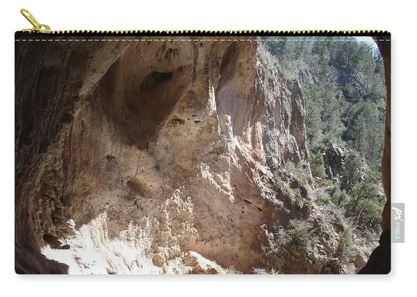 Natural Bridge View Carry-all Pouch
