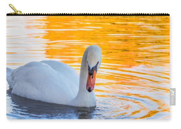 Carry-all Pouch featuring the photograph Nature's Grace by Garvin Hunter