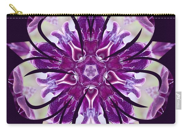 Carry-all Pouch featuring the digital art Nature's Mandala 22 by Derek Gedney