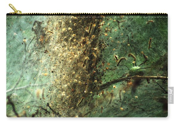 Natures Past Captured In A Web Carry-all Pouch