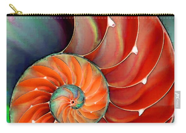Nautilus Shell - Nature's Perfection Carry-all Pouch