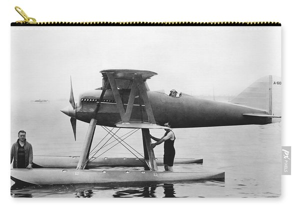 Navy Curtis Seaplane Racer Carry-all Pouch