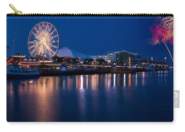 Navy Pier Fireworks Chicago I L Carry-all Pouch