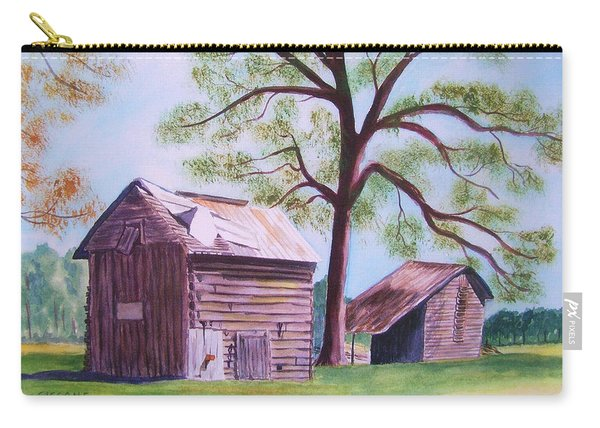 Nc Tobacco Barns Carry-all Pouch