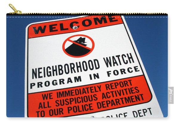 Neighborhood Watch Carry-all Pouch