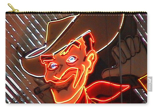 Neon Cowboy Of  Las Vegas Carry-all Pouch