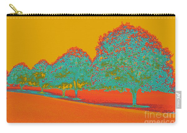 Neon Trees In The Fall Carry-all Pouch