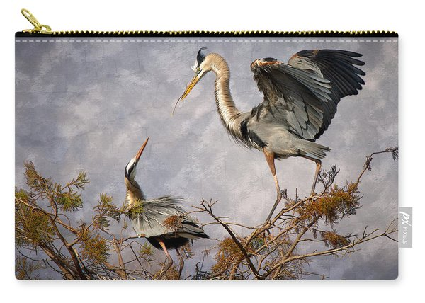 Nesting Time Carry-all Pouch