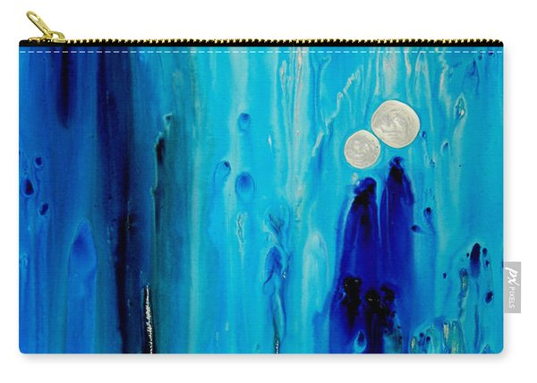 Never Alone By Sharon Cummings Carry-all Pouch