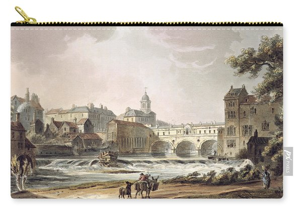 New Bridge, From Bath Illustrated Carry-all Pouch