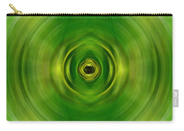 New Growth - Green Art By Sharon Cummings Carry-all Pouch