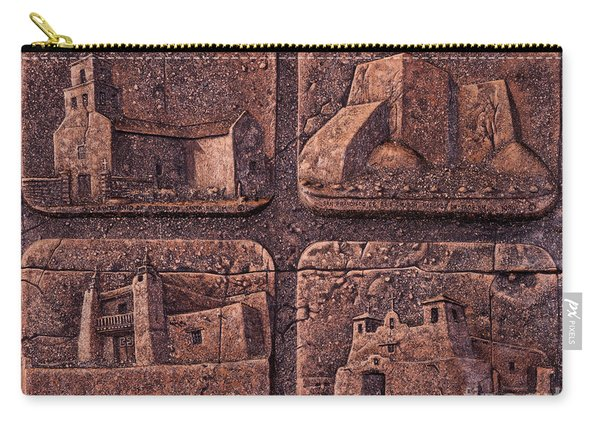 New Mexico Churches Carry-all Pouch