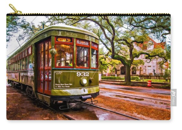 New Orleans Classique Oil Carry-all Pouch