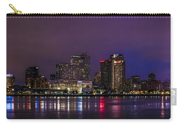New Orleans Skyline Carry-all Pouch