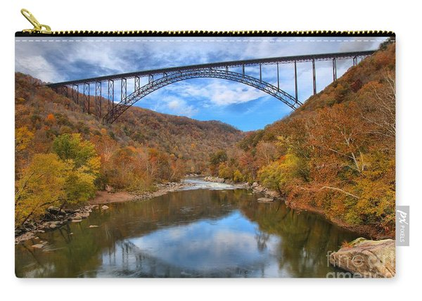 New River Gorge Reflections Carry-all Pouch