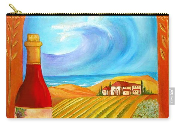 New Wine  Joel 2 Carry-all Pouch