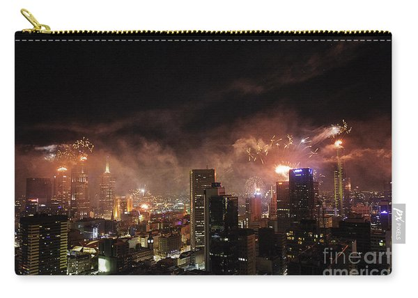 New Year Fireworks Carry-all Pouch