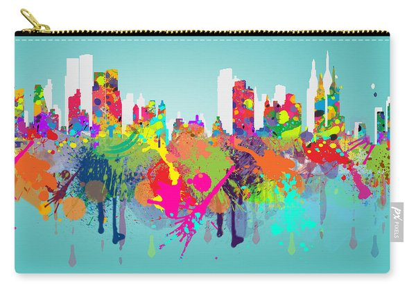New York 7 Carry-all Pouch
