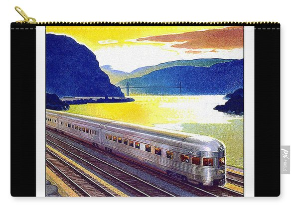 New York Central Vintage Poster Carry-all Pouch