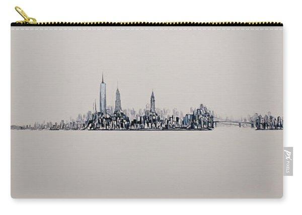 New York City 2013 Skyline 20x60 Carry-all Pouch