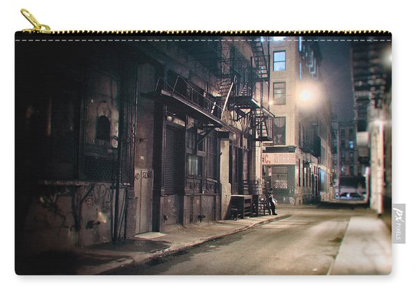 New York City Alley At Night Carry-all Pouch