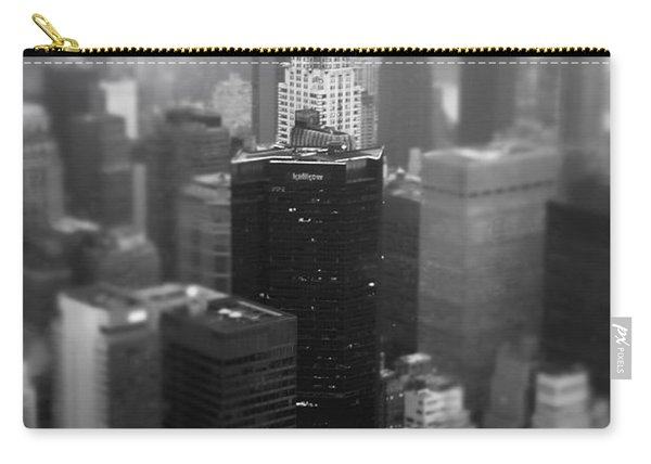 New York City - Fog And The Chrysler Building Carry-all Pouch