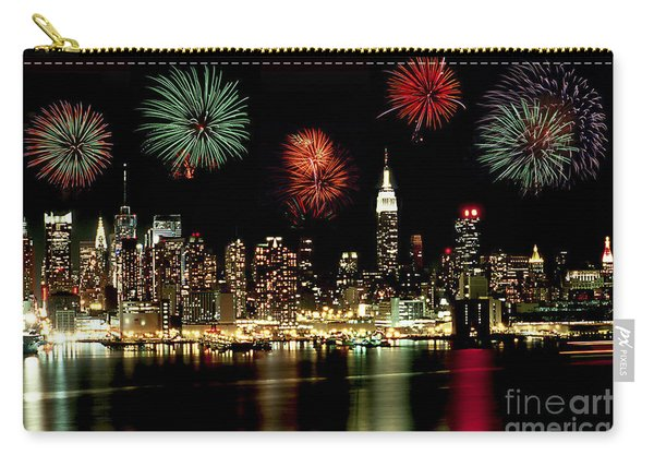 New York City Fourth Of July Carry-all Pouch