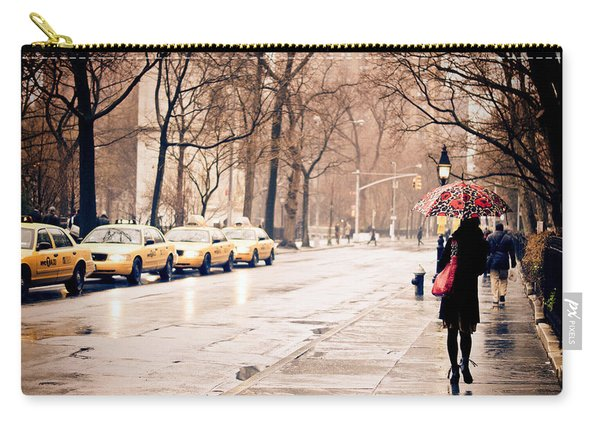 New York Rain - Greenwich Village Carry-all Pouch