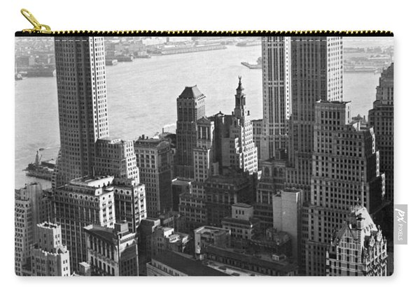 New York's Financial Center Carry-all Pouch