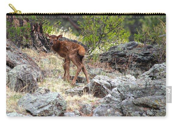 Newborn Elk Calf Carry-all Pouch