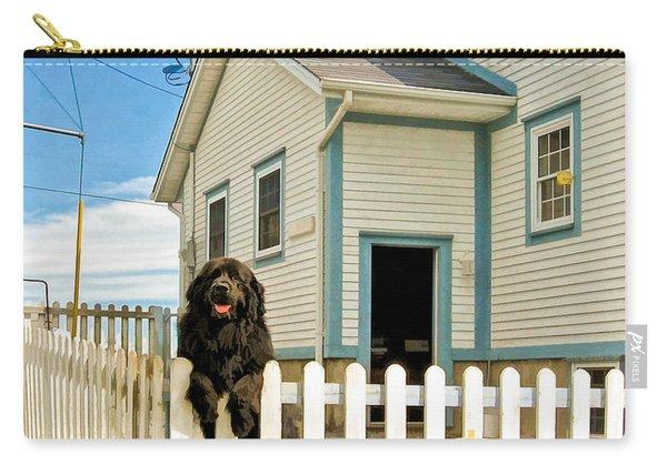 Newfoundland Dog In Newfoundland Carry-all Pouch