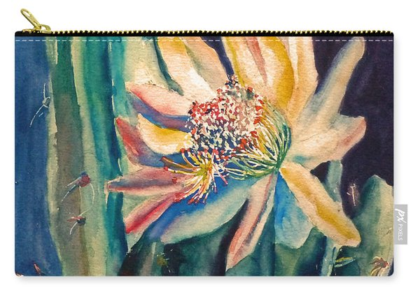 Night Blooming Cactus Carry-all Pouch
