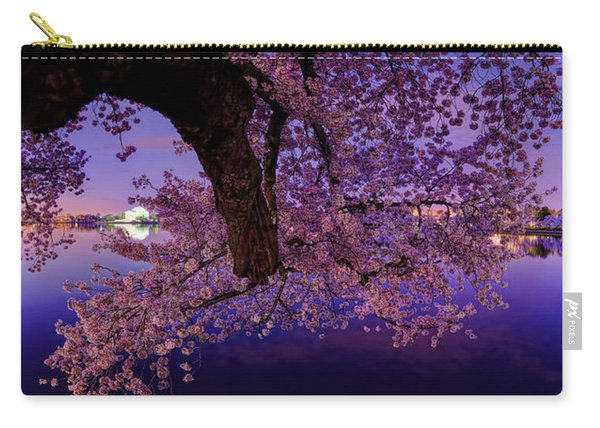 Night Blossoms Carry-all Pouch