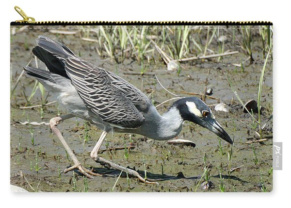 Night Heron Feeding Carry-all Pouch