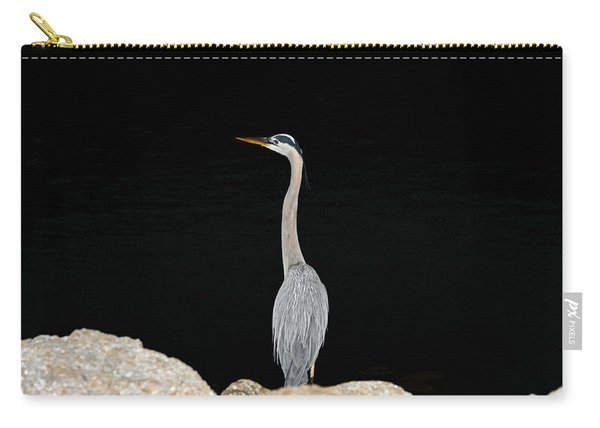 Night Of The Blue Heron 2 Carry-all Pouch