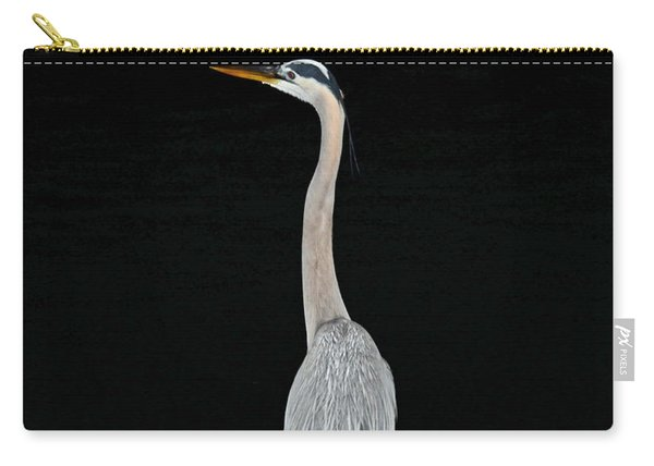 Night Of The Blue Heron 3 Carry-all Pouch