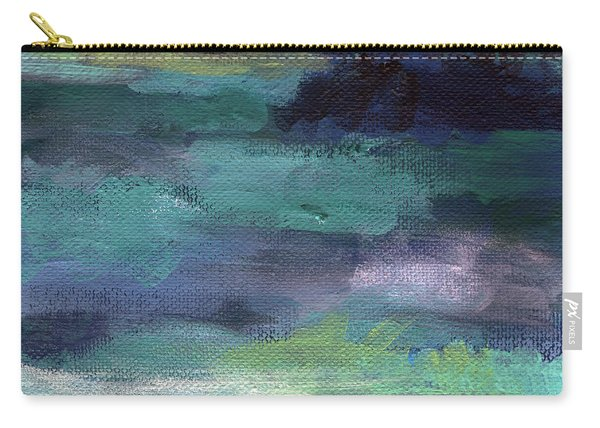 Night Swim- Abstract Art Carry-all Pouch