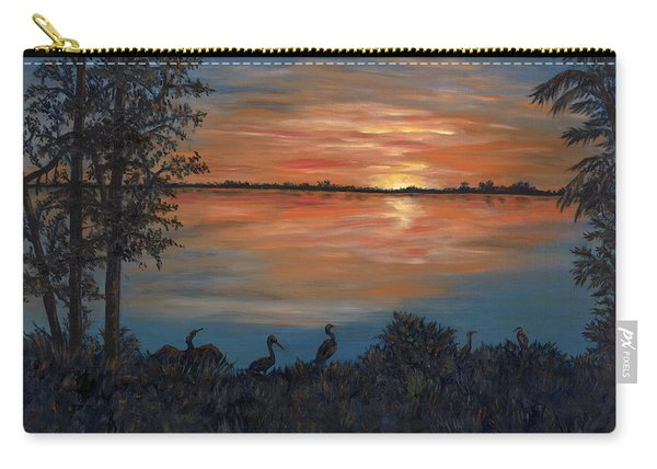 Nightfall At Loxahatchee Carry-all Pouch