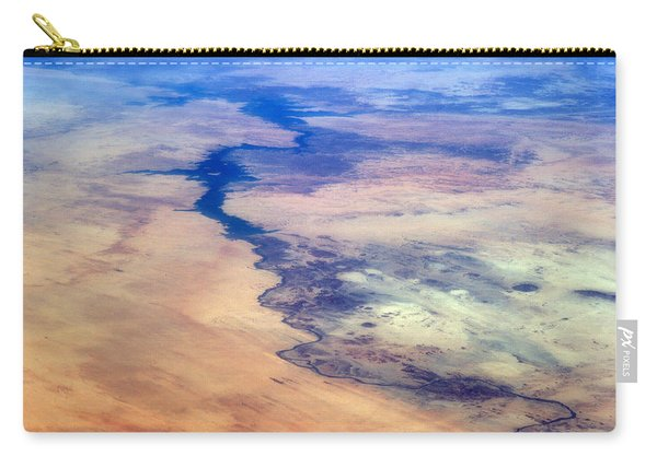 Nile River From The Iss Carry-all Pouch