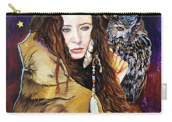 Nine Stars Woman / Owl Medicine Carry-all Pouch