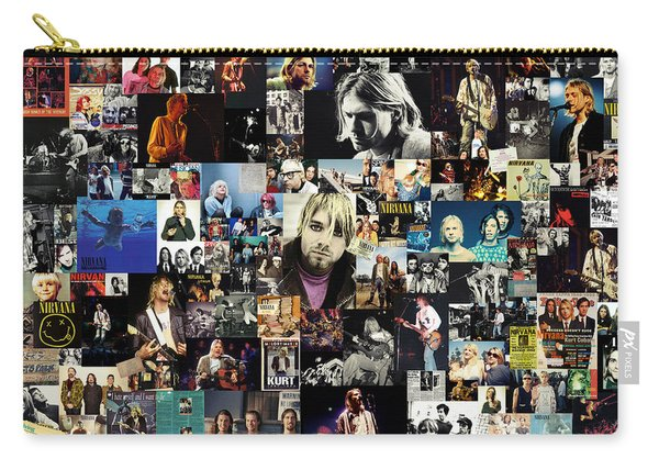 Nirvana Collage Carry-all Pouch