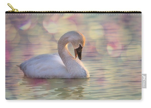 Shy Swan Carry-all Pouch