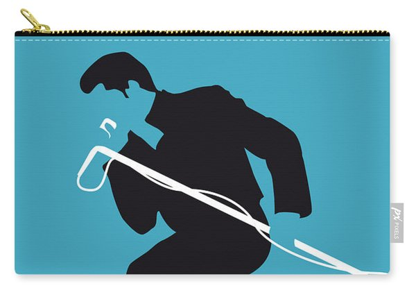 No018 My James Brown Minimal Music Poster Carry-all Pouch